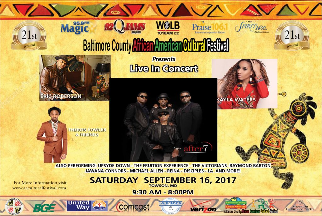 Baltimore County African American Cultural Festival 2017