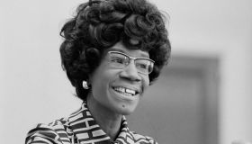 Democratic US Congresswoman Shirley Chisholm Announcing her Candidacy for US Presidential Nomination, Thomas J O'Halloran