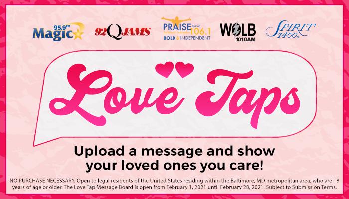 Love Taps_RD Baltimore_January 2021
